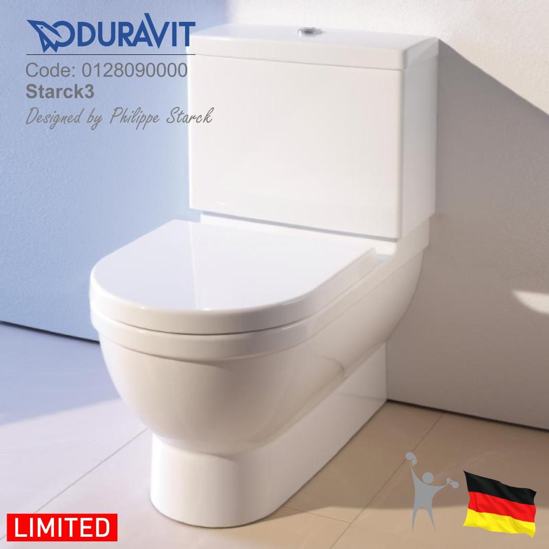 0128090000-اشتارک-3-توالت-فرنگی-مخزن-دار-دوراویت-Duravit-Starck-3