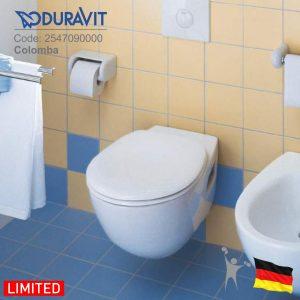 2547090000-کولومبا-توالت-فرنگی-وال-هنگ-دوراویت-Duravit-Colomba