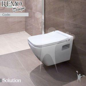 کاسه-توالت-وال-هنگ-رمو-دیزاین-مدل-سلوشن-Solution-real