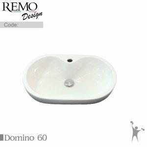 کاسه-روشویی-رو سنگی-رو-کابینتی-با-جای-شیر-رمو-دیزاین-مدل-دومینو-Domino-Product