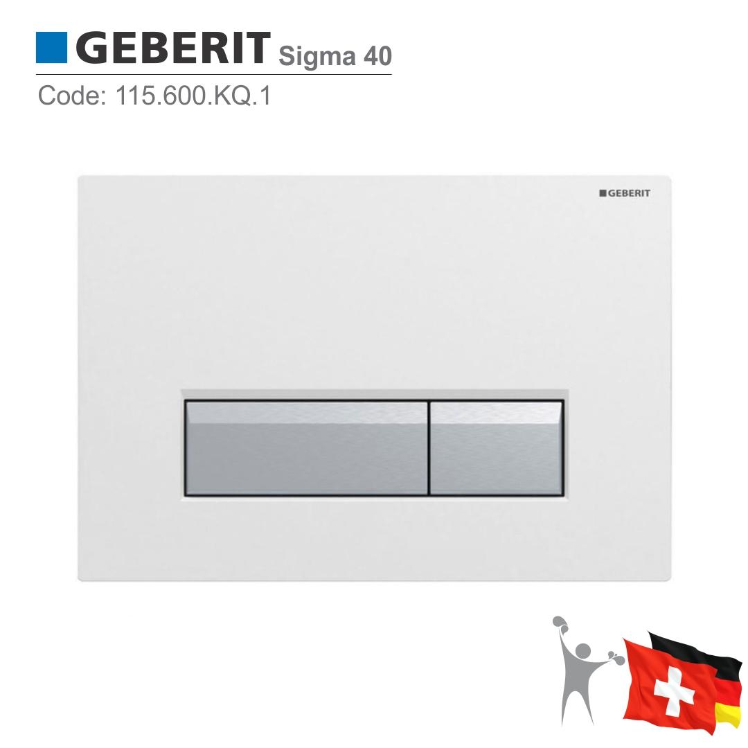 115.600.KQ.1-سیگما-سفید-فلاش-تانک-توکار-گبریت-Geberit-Sigma-40