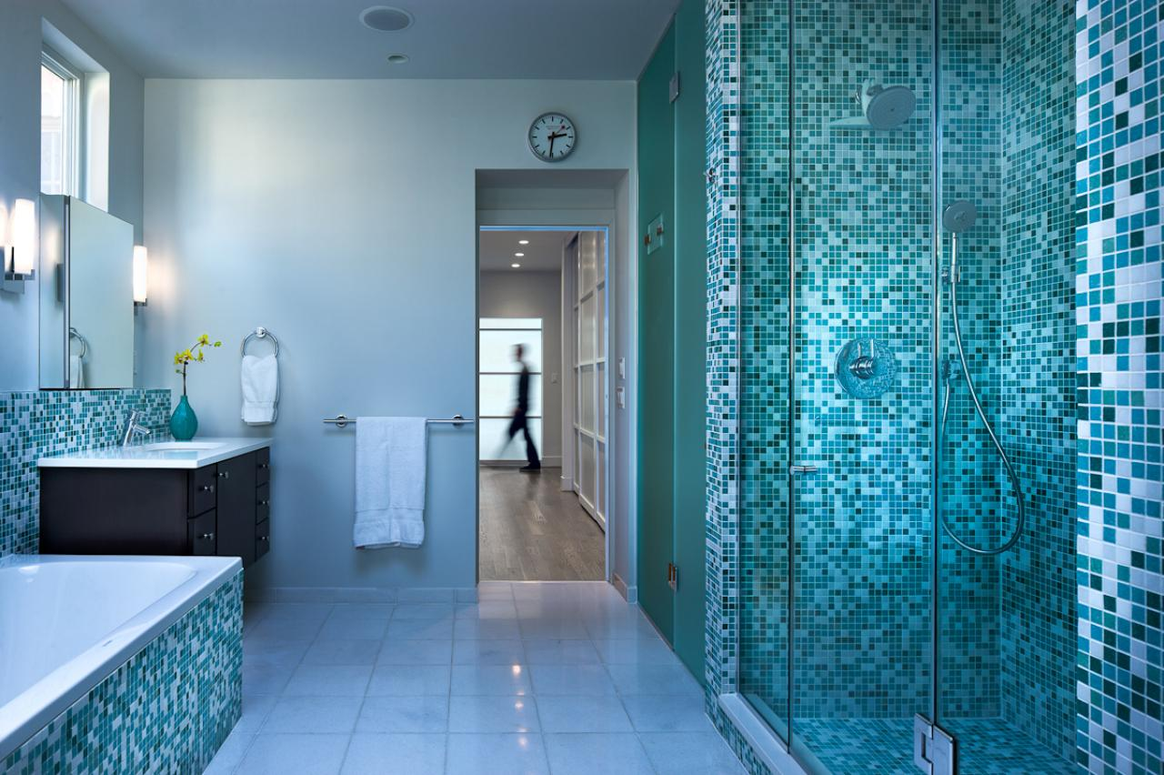 ایده طراحی سرویس بهداشتی طرح آبی